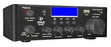 Pyle PVA3Um 60 Watts/ Hi-Fi Mini Amplifier USB/SD Card Player