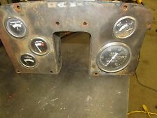 Massey Ferguson 1080 Tractor Dash Gauge Cluster W/ Working Tachometer