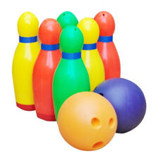 Large Kids Toy Bowling Game Skittles Set Indoor Outdoor Brand New In Retail Box