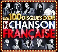 VARIOUS ARTISTS - LES 100 DISQUES DOR DE LA CHANSON FRANCAISE NEW CD