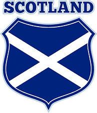 PREMIUM Aufkleber Schottland Wappen Schild Autoaufkleber Auto Motorrad Sticker