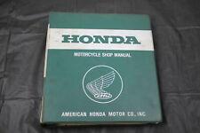 1983 HONDA XR500R PRO LINK 500 SERVICE MANUAL BOOK