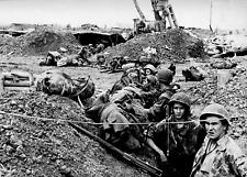 Photo guerre Indochine Dien Bien Phu cimetière militaire format 10x15 cm n224