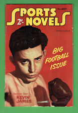 #RR.   SPORTS NOVELS  MAGAZINE - JULY 1956,   BOXING  KEVIN JAMES COVER