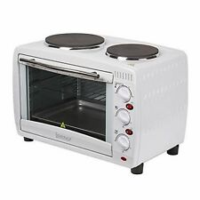 Igenix IG7126 Electric 26L Mini Oven with Hob and Grill Function White SIL000013