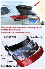 Paint Deflector Roof Spoiler Rear Wing ABS For Mitsubishi Outlander 2013-2017