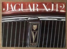 1972 Jaguar XJ12 original British sales brochure