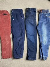 Boy Age 5-6 Years Jeans Trouser Bundle 4 Pairs TU George