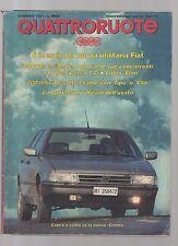 Quattroruote febbraio 1991 - utilitaria nuova