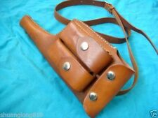 Military WW2 German Mauser C96 Broomhandle Leather Holster With Strap