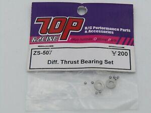 TOP Racing ZS-507 Diff Trust Bearing Set