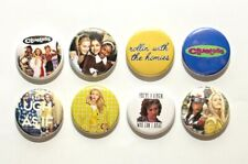 "8 1"" Clueless As If Brittany Murphy Alicia Silverstone- pinback badges buttons"