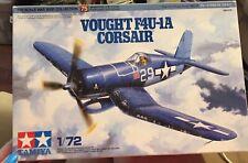 TAMIYA 60775 1/72 Vought F4U-1A Corsair AIRCRAFT Parts are sealed!