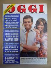 OGGI n°37 1974 Alessandro Momo Agostina Belli Kirk Douglas  [G775]