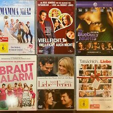 Romantik & Liebesfilme DVD Sammlung (6-DVDs) Mamma Mia, Brautalarm, u.a.
