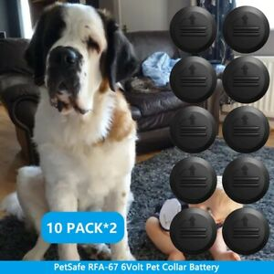 20 PACK 6V RFA-67 Batteries For Pet Safe Battery Fence Bark Training Pet Collars