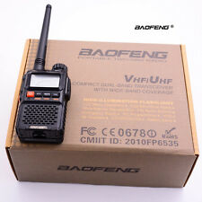 MINI Baofeng UV-3R+ Plus Walkie Talkie CTCSS Dual Band Frequency 2-Way Radio