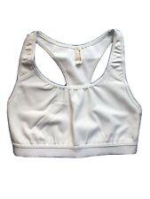NEW Sz XS Free People Movement Racerback White Sports Bra Stretch Pullover