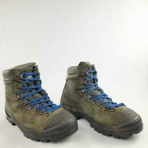 Vintage Montrail Boot Men Extreme Mountaineering Hiking Lace Up Size 12 Italy