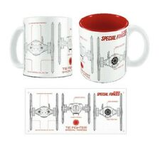 Star Wars Force Awakens Special Forces Tie Fighter Blueprint Mug SD Toys