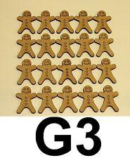 20 in legno forma pan di zenzero Uomo, - MDF legno, artigianale Blanks, decoupage.