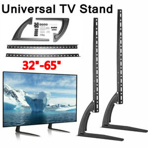 Desk Tabletop TV Stand Mount Bracket For 32 37 42 50 55 60 65 Inch Samsung Sony