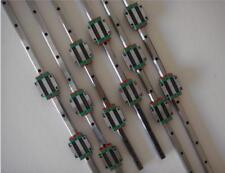 6 Hiwin Linear Rail profiles +3 ball screws + 3 bearing mounts BK/BF12 + Housing
