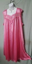SWEET AND SEXY  ROSE CALF LENGTH BABYDOLL NIGHTGOWN WOMEN PLUS SZ 4X GIFT