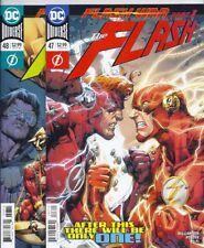 DC UNIVERSE FLASH #47 48 49 50 STANDARD COVERS COMPLETE FLASH WAR STORY! IMPULSE