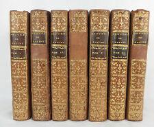 oeuvres de Jean RACINE 1768 7 volumes par L. DE BOISJERMAIN / L. CELLOT gravures