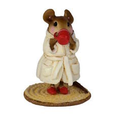 PERK UP! by Wee Forest Folk, WFF# M-569, WHITE Robe