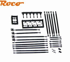 Roco H0e 143030 Zurüstbeutel/Kuppelstangen für Rollwagen - NEU + OVP