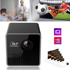 Mini HD 1080P Projector Pico DLP WIFI Home Theater Cinema Multimedia Airplay/Mac