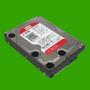 """Festplatte Western Digital WD20EFRX 2 TB SATA 3  8,9 cm (3,5"""") WD RED NASware 3."""