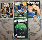 GUERIN SPORTS ALMANAC OF THE WORLD SOCCER SPAIN '82 PLUS (3) OTHER SOCCER MAGS