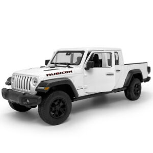 1:27 2020 Jeep Gladiator Pickup Truck Model Car Diecast Vehicle Collection White