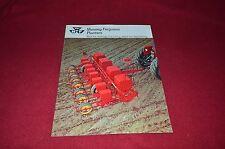 Massey Ferguson Planters Dealer's Brochure Yabe
