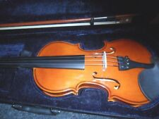 STUDENT VIOLIN 3/4 SIZE CASE & BOW + ROSIN IDEAL STARTER INSTRUMENT NEW & UNUSED