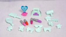 Lego Friends Zubekör 20 tlg. Fön Lippenstifte Kamm Tasche Krone Schleifchen #7