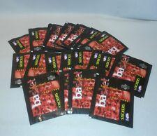 ☆ Lot 20 unopened packs 1997-98 Upper Deck Basketball  stickers MICHAEL JORDAN ?