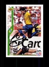 Jorghino Brasilien UPPER DECK Sammelcard WM 1994 Original Sign+ A 157647