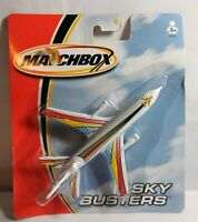 MATCHBOX SKY BUSTERS MULTI-COLOUR DC-10 - 68982 - SEALED BLISTER PACK