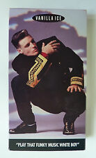 Vanilla Ice Play That Funky Music White Boy Video (VHS, 1991) Ex-Rental