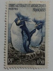 2 x FRENCH COLONIES STAMPS - 0F50 - 1F