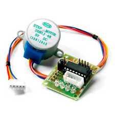 Motor Paso a Paso 28BYJ-48-5V 4 Fase 5 Cable CC 5V T5 + Driver ULN2003 Arduino