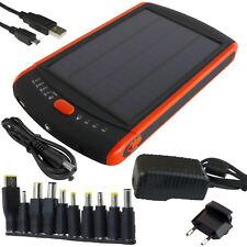 Caricatore Solare 2.5W PowerBank 23000mAh LiPo LED Laptop Tablet Phone PowerNeed