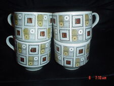 Ironstone 1960-1979 Staffordshire Pottery Cups & Saucers