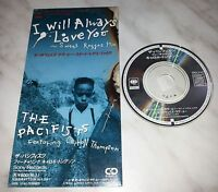 """CD THE PACIFISTS - I WILL ALWAYS LOVE YOU - REGGAE MIX - SRDL 3742 - JAPAN 3"""" IN"""