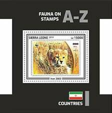 Sierra Leone - 2019 Stamp on stamp WWF - stamp Souvenir Sheet - SRL191002b7