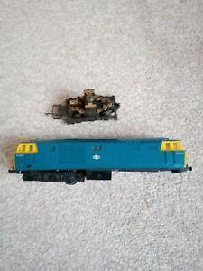 Tri-ang Hornby Hymek R758 spares or repair.